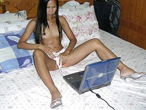 Asian Masturbating Porn Pictures