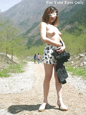 Asian Outdoor Porn Pictures