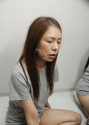 Asian Cumshots Porn Pictures