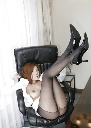 Asian Redhead Booty Porn Pictures