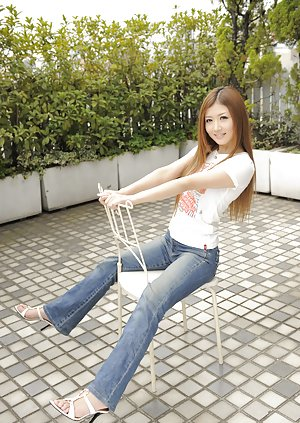 Asian Booty in Jeans Porn Pictures