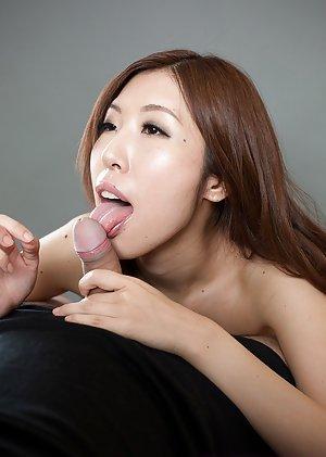 Asian Handjob Porn Pictures